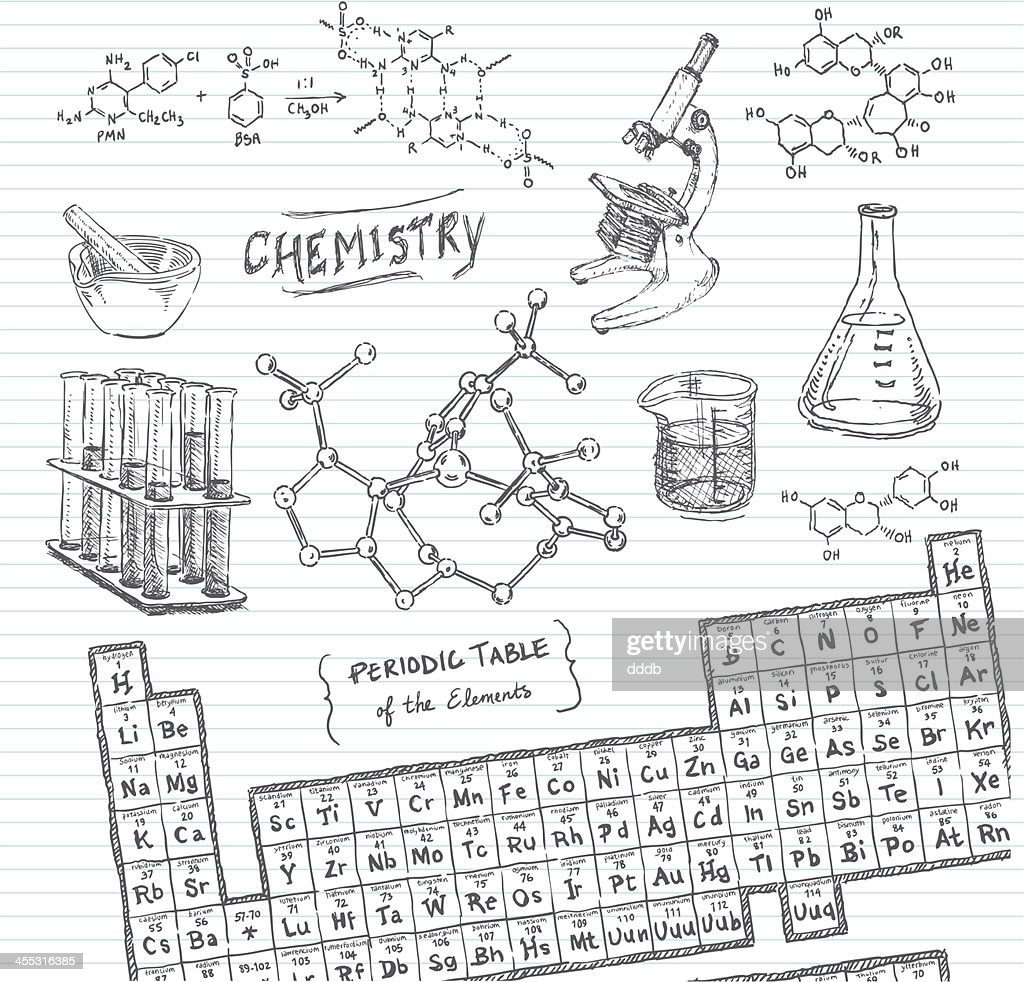 Periodic Table Stock Illustrations And Cartoons Getty Images