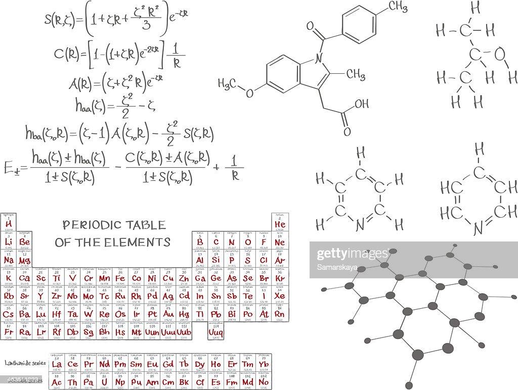 Chemistry : stock illustration