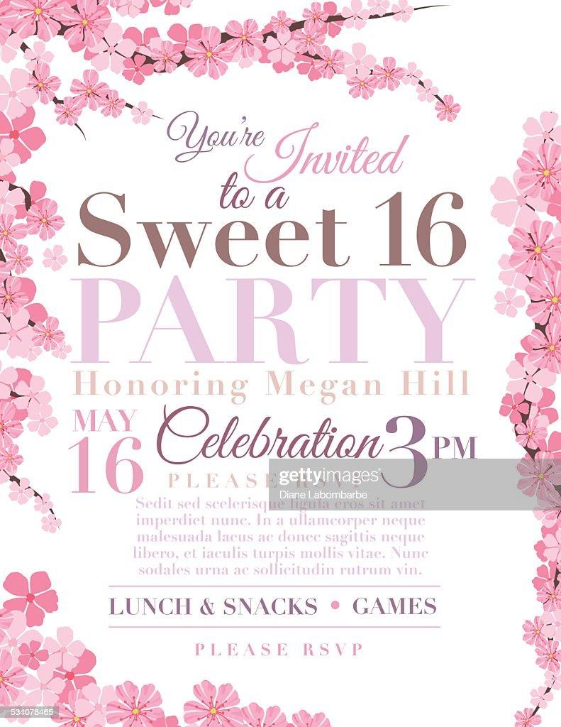 sweet 16 invite templates radiotodorock.tk