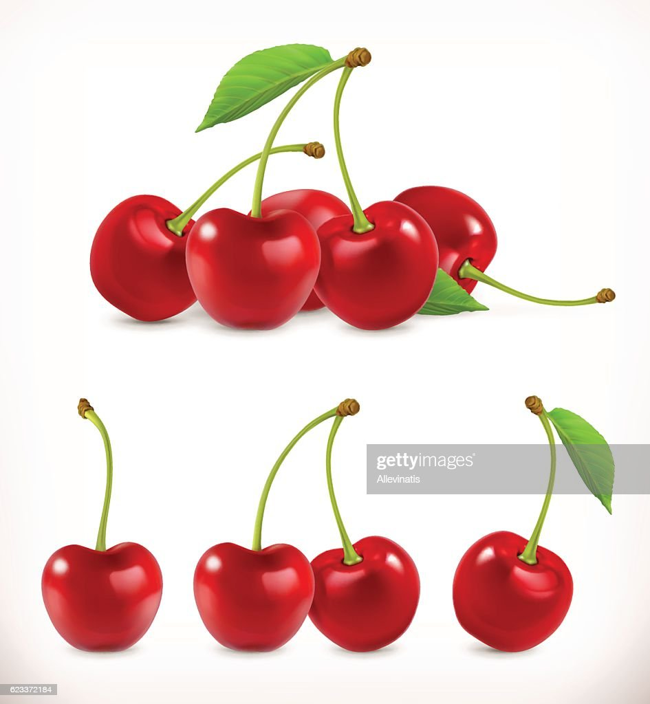 Cherry. Sweet fruit