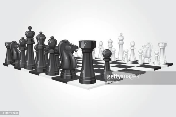 chess board - chess board stock illustrations