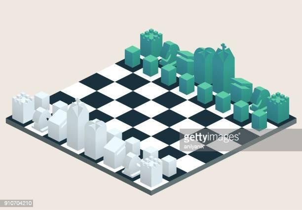 チェスボード - チェス点のイラスト素材/クリップアート素材/マンガ素材/アイコン素材