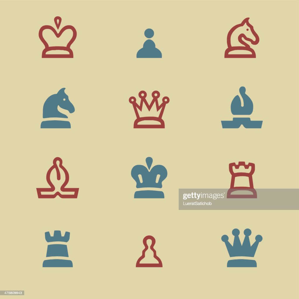 Chess color harmony Icons