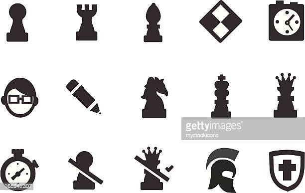 Iconos de ajedrez
