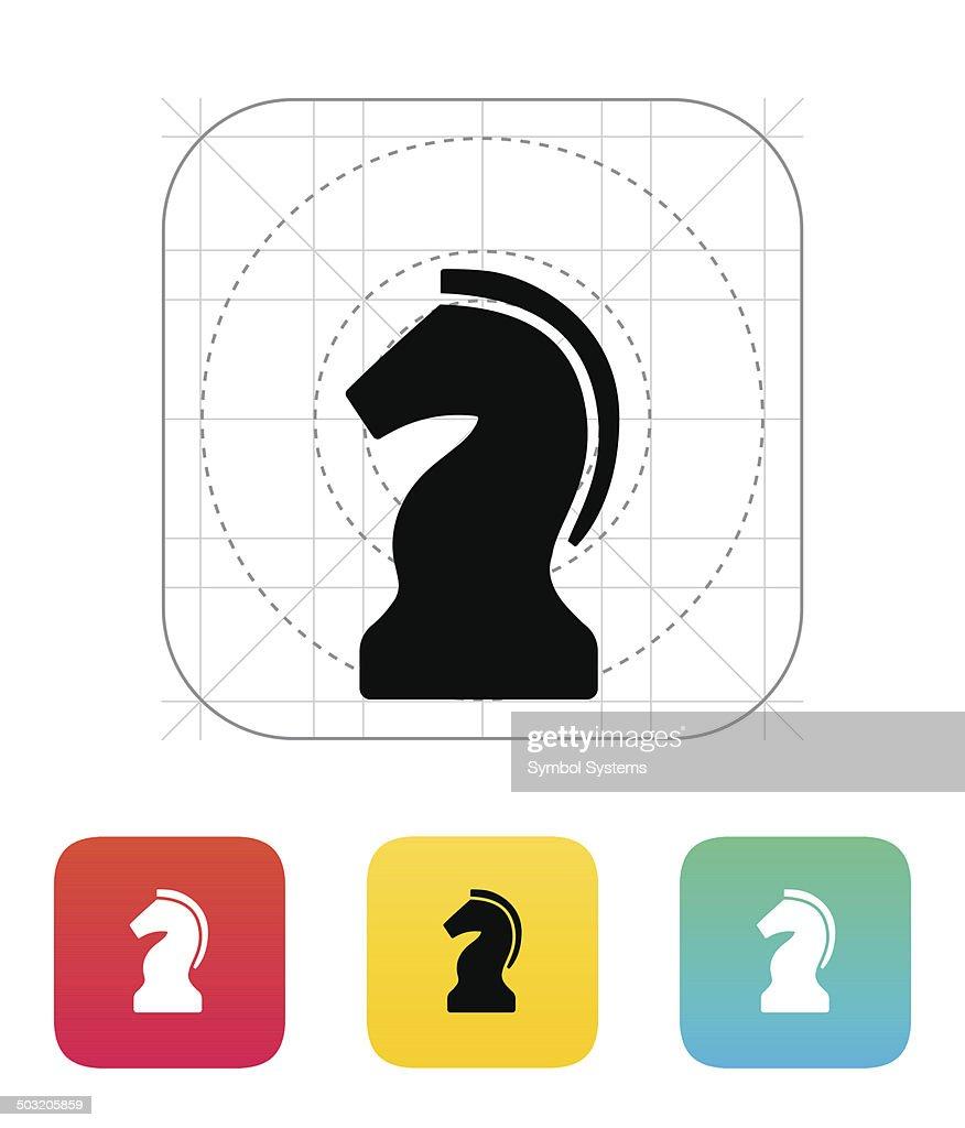 Chess Knight icon.