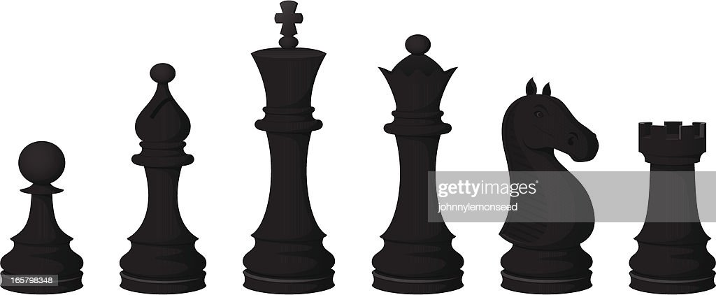 Chess Pieces (black)