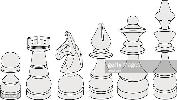 ilustraciones, imágenes clip art, dibujos animados e iconos de stock de de ajedrez piezas - torre pieza de ajedrez