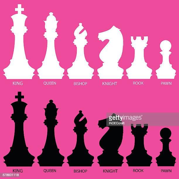De ajedrez piezas