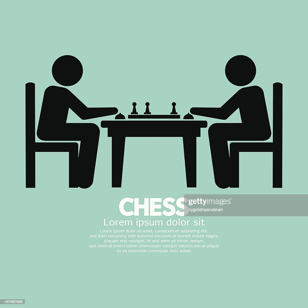 Chess Player Sign