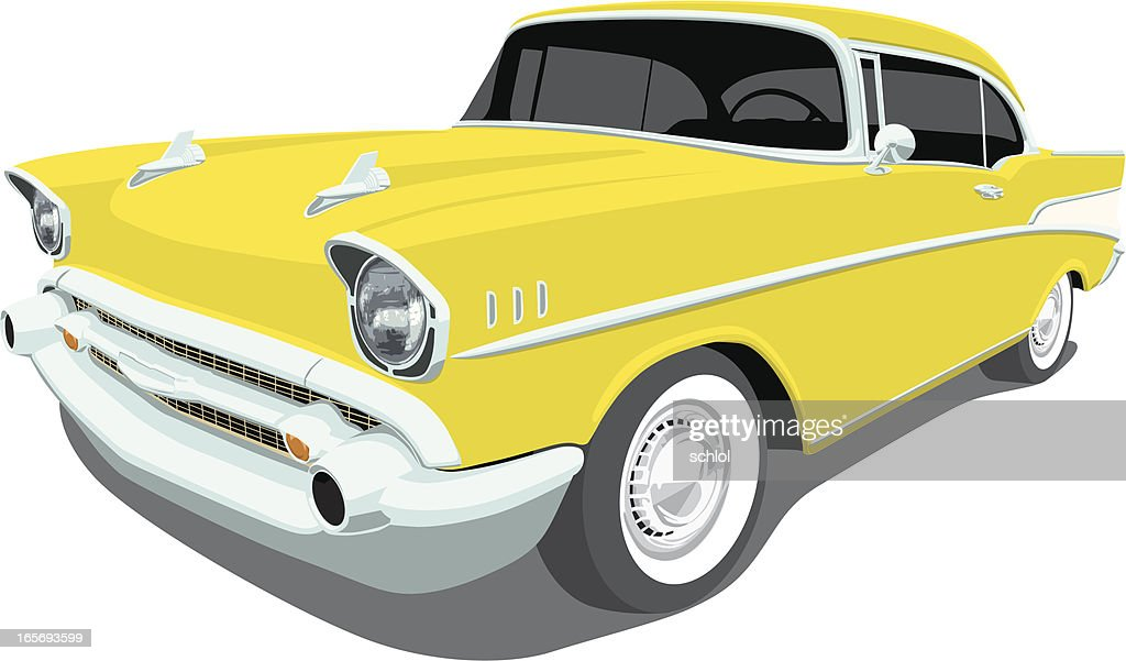 Chevrolet1957 Bel Air - Angle View
