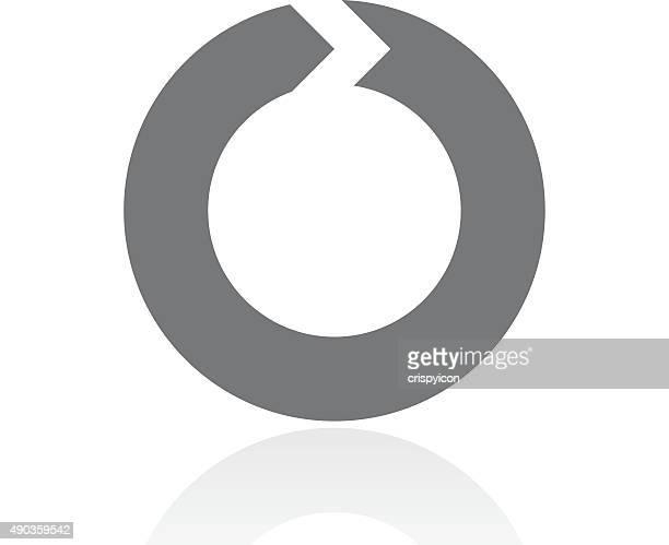 Chevron Chart icon on a white background. - ProSeries