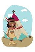 Chica Nativa Americana
