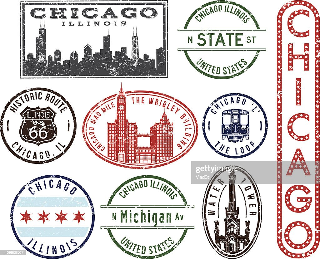 Chicago rubber stamps