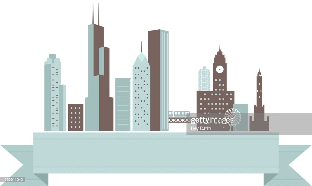 Chicago Skyline Banner