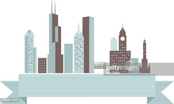 Chicago Skyline Banner