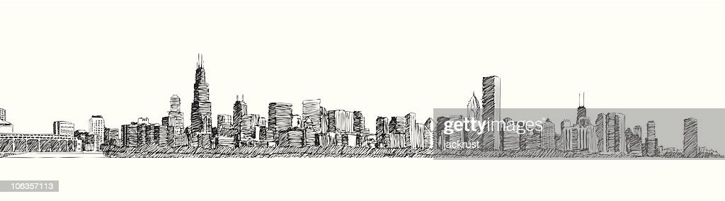 Chicago Skyline (vector)