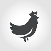 Chicken Icon - Iconic Series