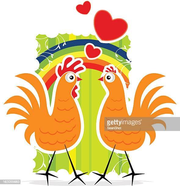 チキンの愛