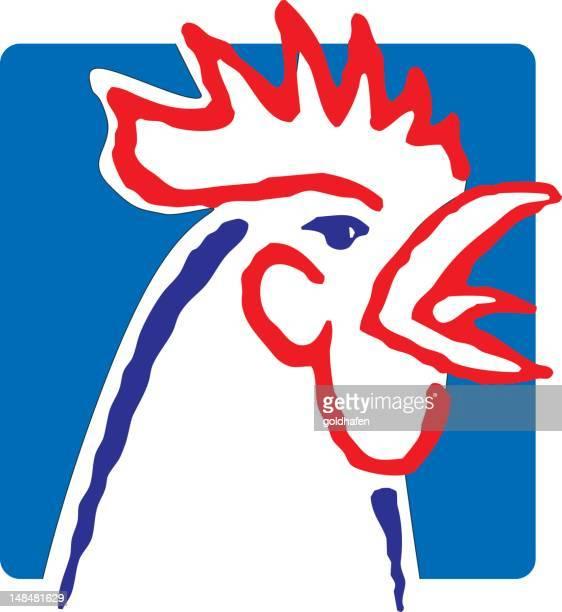 ilustraciones, imágenes clip art, dibujos animados e iconos de stock de pollo - cultura francesa