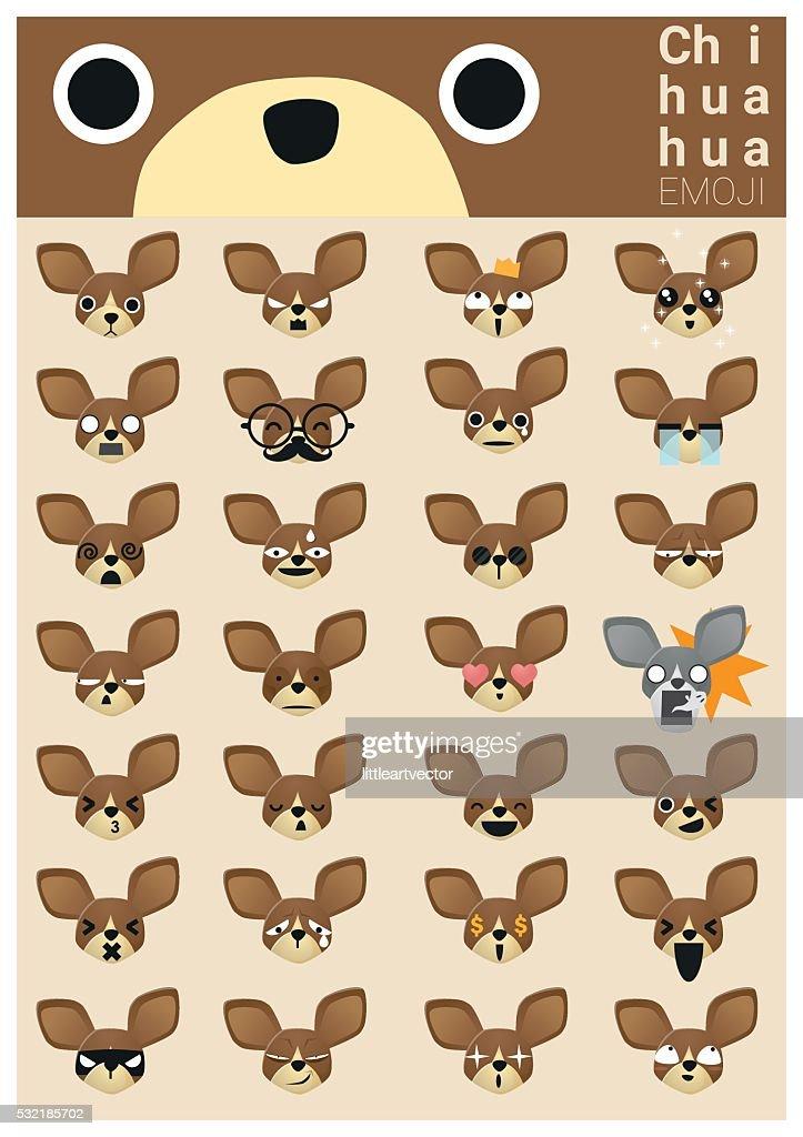 Chihuahua emoji icons