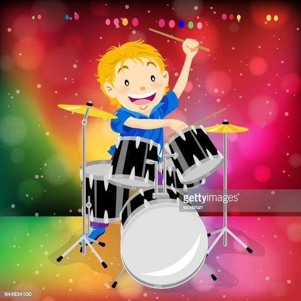Child Drum Solo