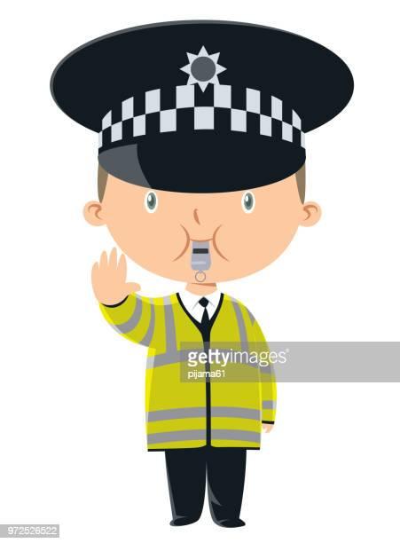 Child traffic officer