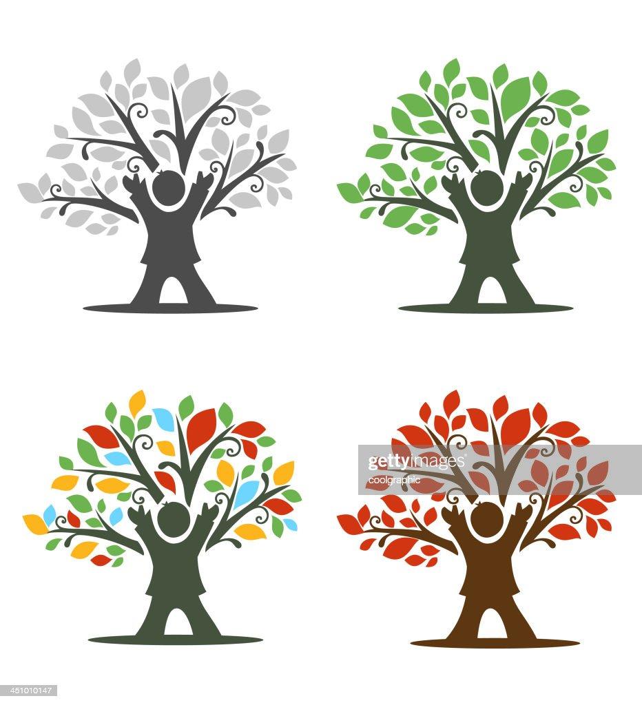 Child Tree Icon