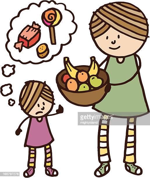 Child will not eat fresh fruit