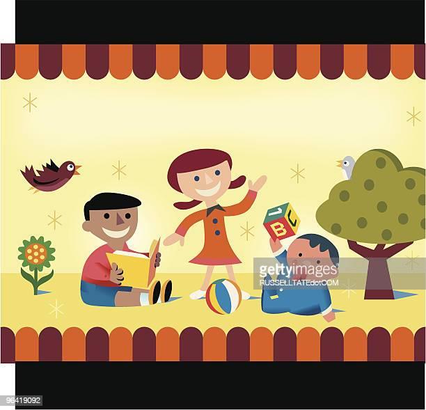 Kinderbetreuung für Kinder
