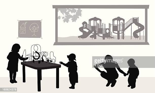 childcare - child care stock illustrations