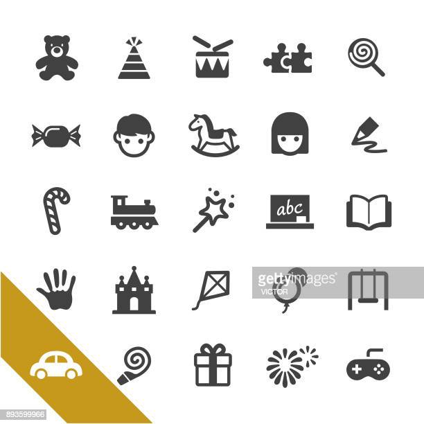 Childhood and Early Education Icons - Select Series