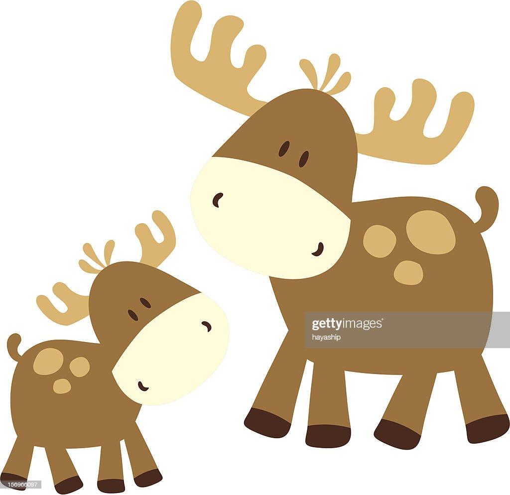 childish moose family