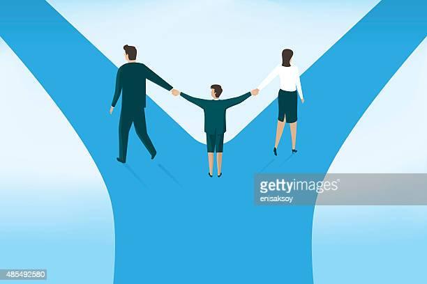 Enfants et le divorce