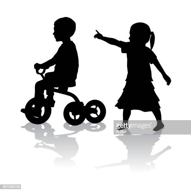 Children And Tricycles
