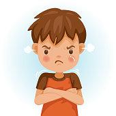children angry