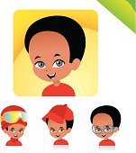 Children Avatar Icon Set- KIDS SET 03