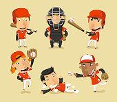 Children Baseball Team