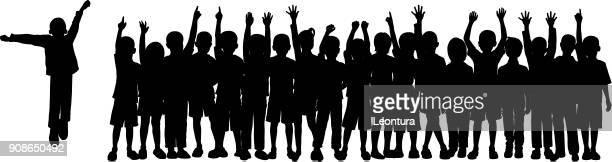 Kinder der Masse (alle sind vollständig und beweglich)