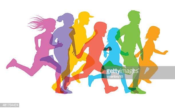 Kinder Laufen