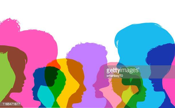 children - diversity stock illustrations