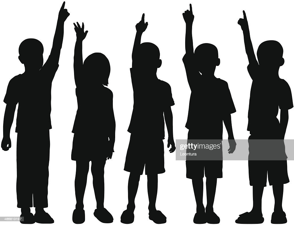 Children : stock illustration