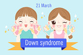 children with down syndrome concept