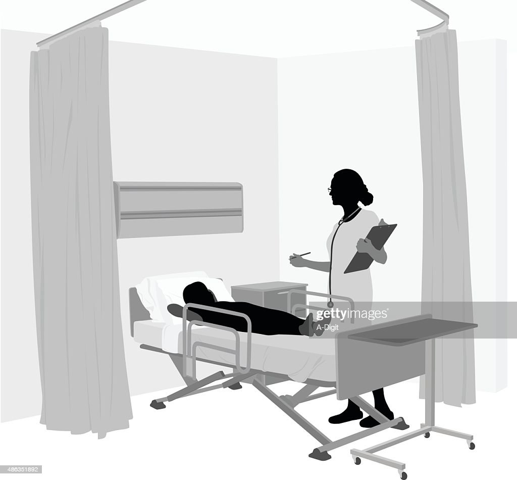 Children's Hospital Room With Female Doctor