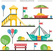 children's playground kindergarten