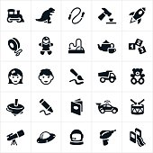Children's Toys Icons