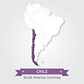 Chile. All the countries of South America.