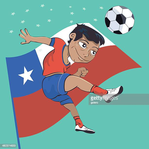 chile soccer-boy
