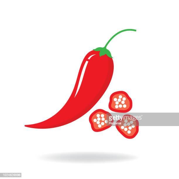 ilustrações de stock, clip art, desenhos animados e ícones de chili pepper - pimenta