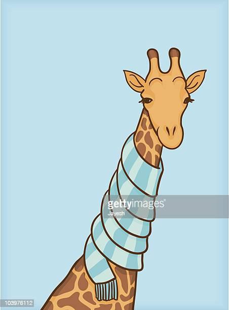 Kühle Giraffe