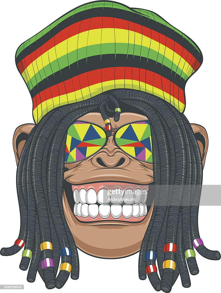 Chimpanzee Rastafarian